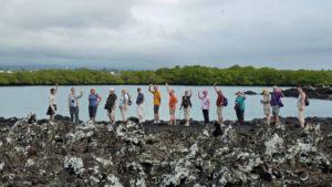 Galapagos-lava-group-hike