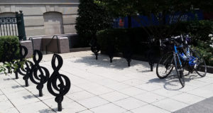 Around Nashville - Nashville Schermerhorn Symphony Center bike rack