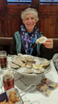 Fried and raw oysters for Happy Hour at Luke's in New Orleans