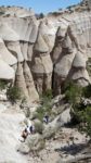 Hiking at Tent Rocks National Monument