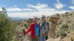 Summit of Tent Rocks' Canyon Trail