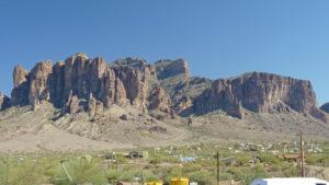 Superstition Mountains Apache Trail, Goldfield, AZ