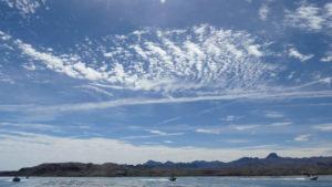 Lake Havasu Rubba Duck Safari - blue sky