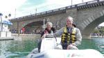 Rubba Duck Safari - happy boaters at Lake Havasu