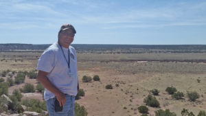 Kenny Bowekaty, Zuni Archaeologist and tour guide