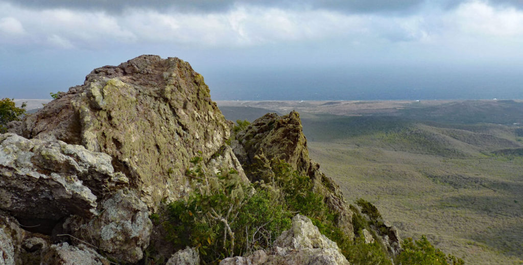 Summit of Mt Christoffel in Curacao